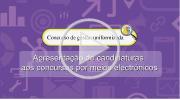 Apresentação de candidaturas aos concursos por meios electrónicos